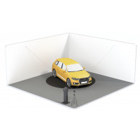 Plateau tournant pour photographie automobile | Solution de base
