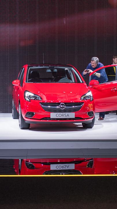 Opel Corsa Autosalon Brussel
