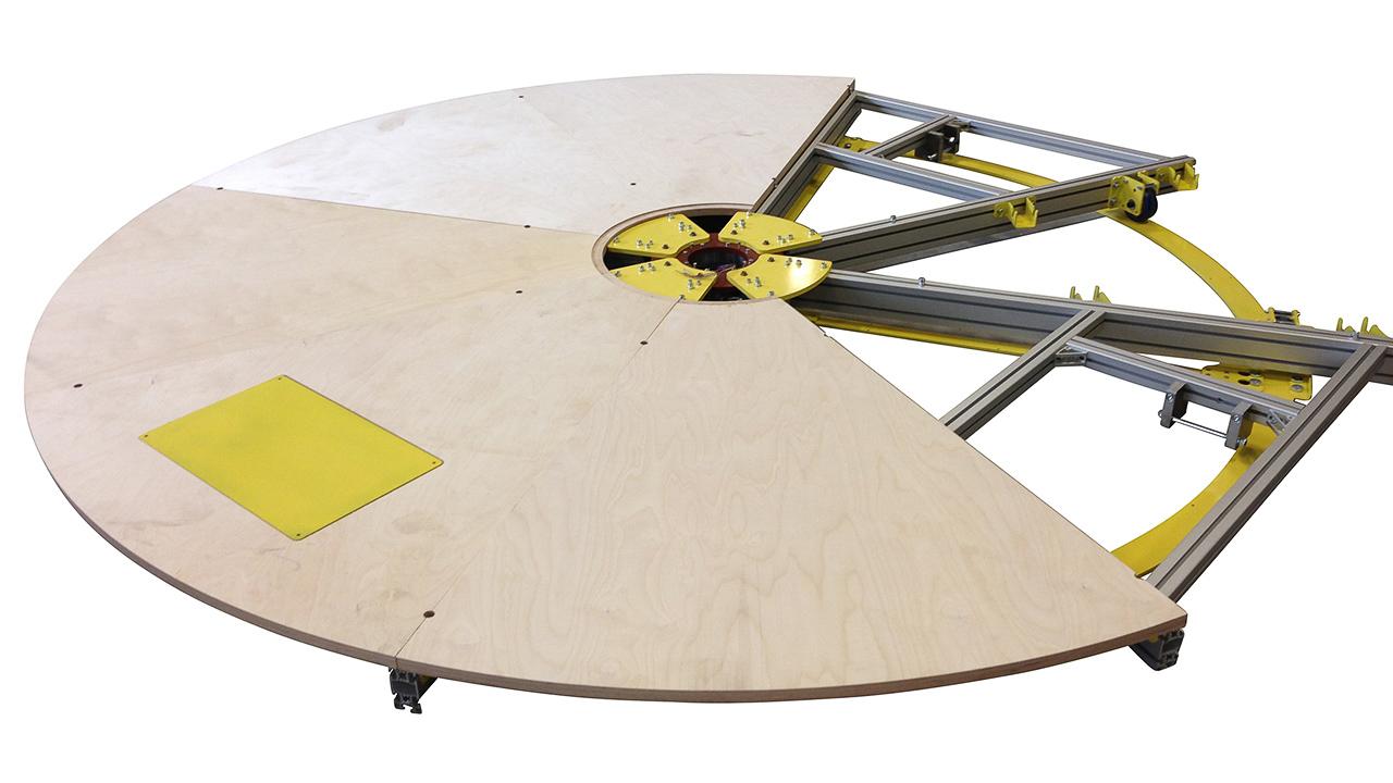 acheter un plateau tournant 3 m pre motion. Black Bedroom Furniture Sets. Home Design Ideas